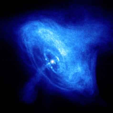 ™ ANGELCRAFT UNIVERSES Crab Nebula Chandra X- Rays Pulsar
